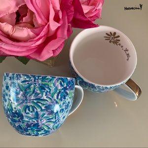 NWT Lilly Pulitzer Ceramic Mugs